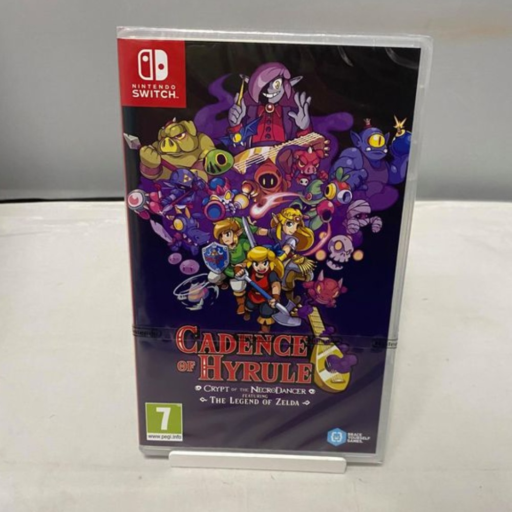 Product photo for Cadence of Hyrule Nintendo Switch Game