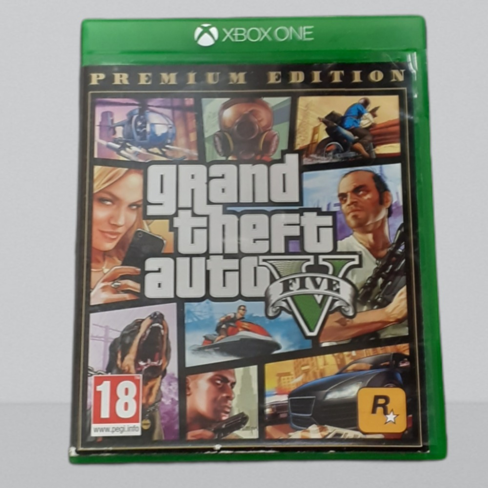 Product photo for Xbox One Game gta 5