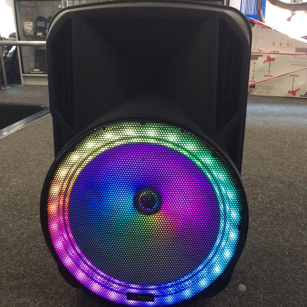 Product photo for Party Party 15rgb Portable Sound System