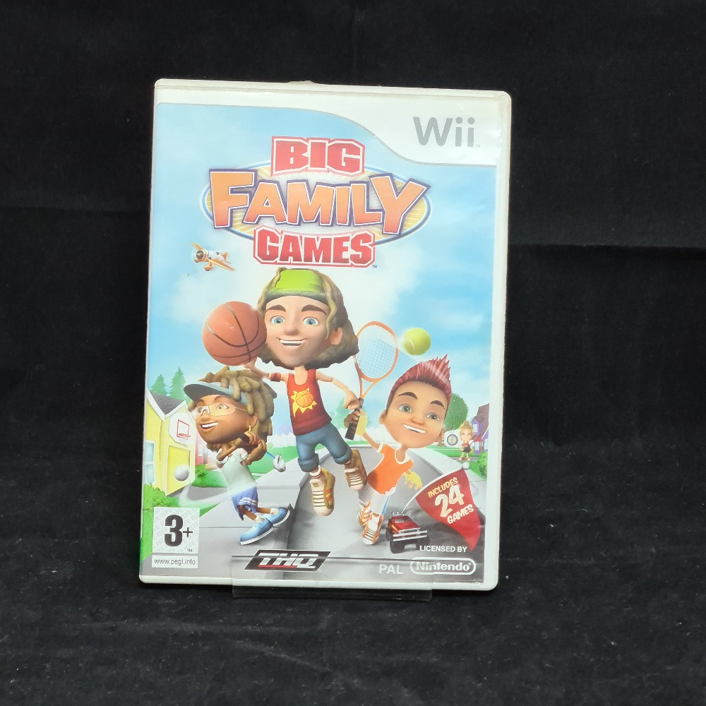 Product photo for Nintendo Wii Game Big Family Games