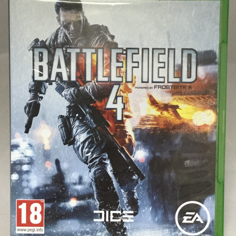 Product photo for Xbox One Game Battlefield 4