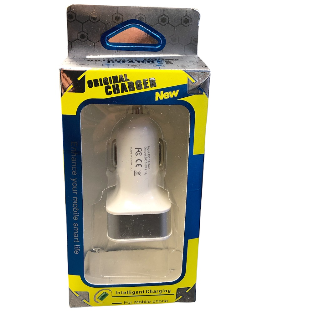 Product photo for unipha Twin in-car charger