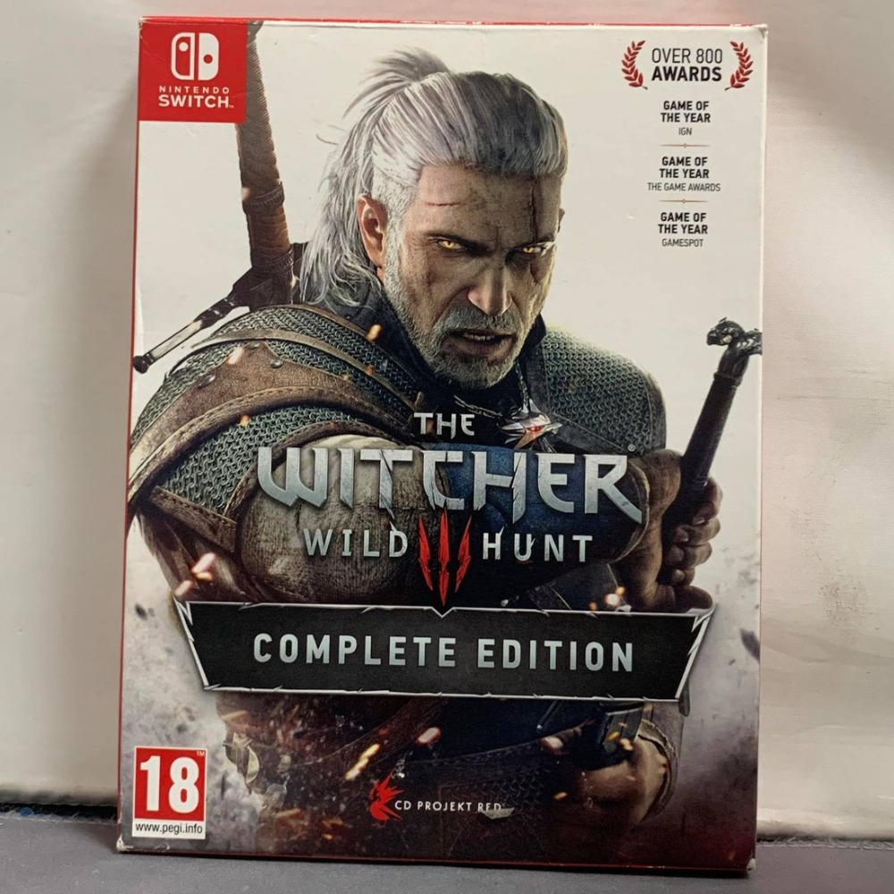 Product photo for Witcher 3 Switch Game