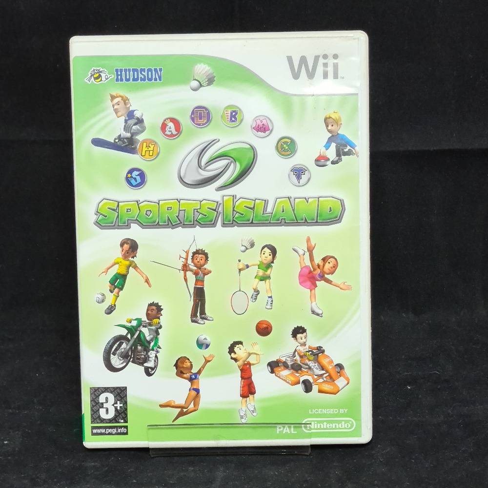 Product photo for Nintendo Wii Game Sports Island
