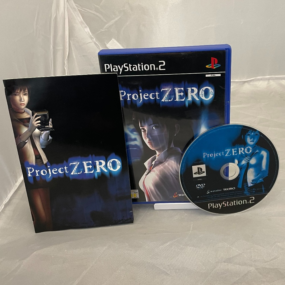 Product photo for Sony Project Zero - Sony PlayStation 2 Ps2 Complete - Cult Horror 2002 - Rare