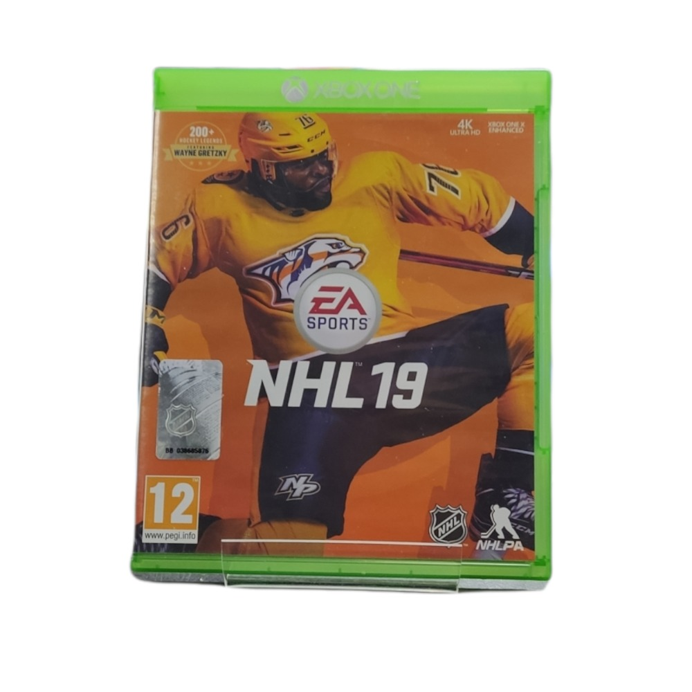 Product photo for  Microsoft Xbox one game NHL 19