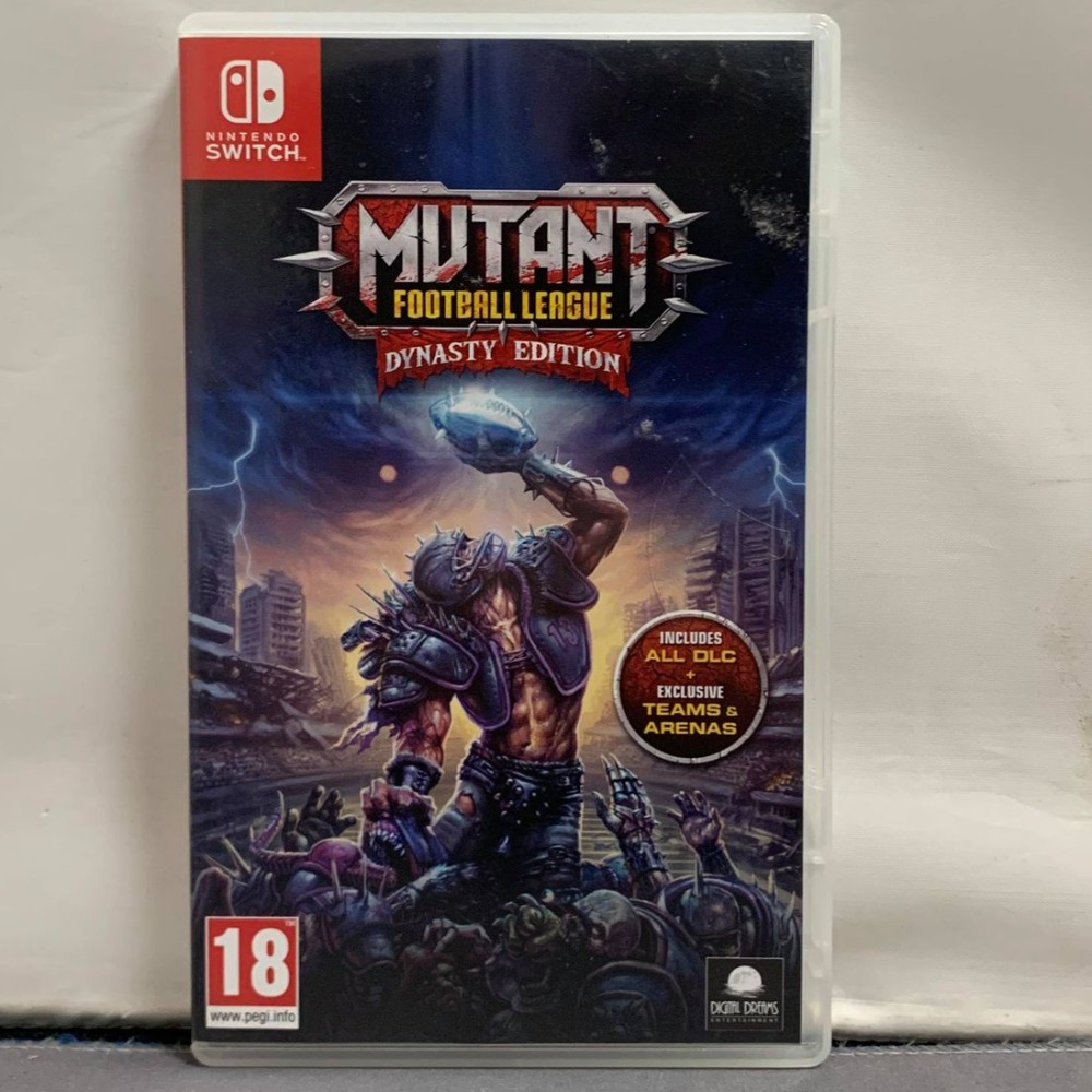 Product photo for Mutant Football League Switch Game
