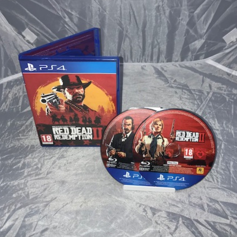 Product photo for PlayStation 4 Game Red Dead Redemption II