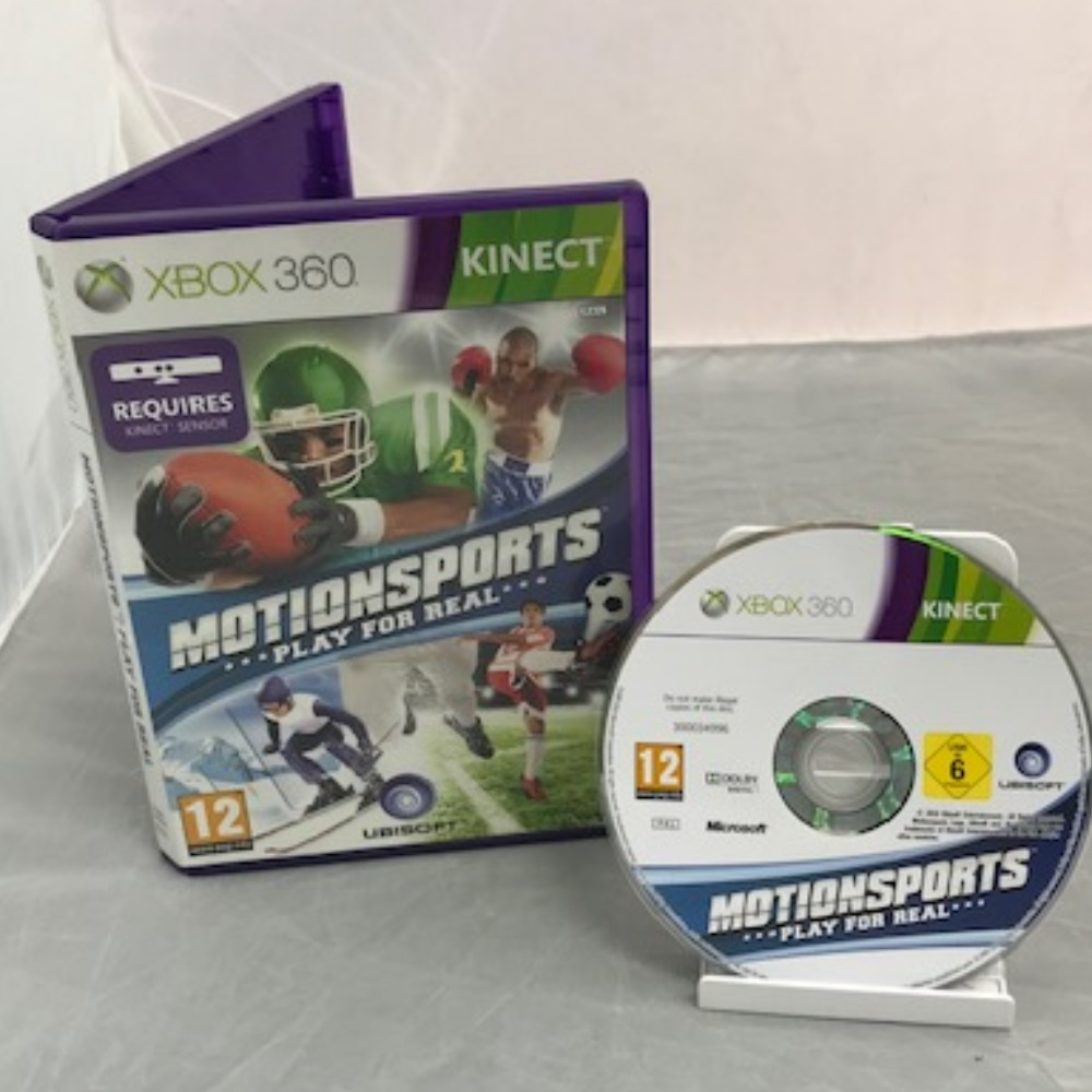 Product photo for Xbox 360 Game Motionsports: Play For Real