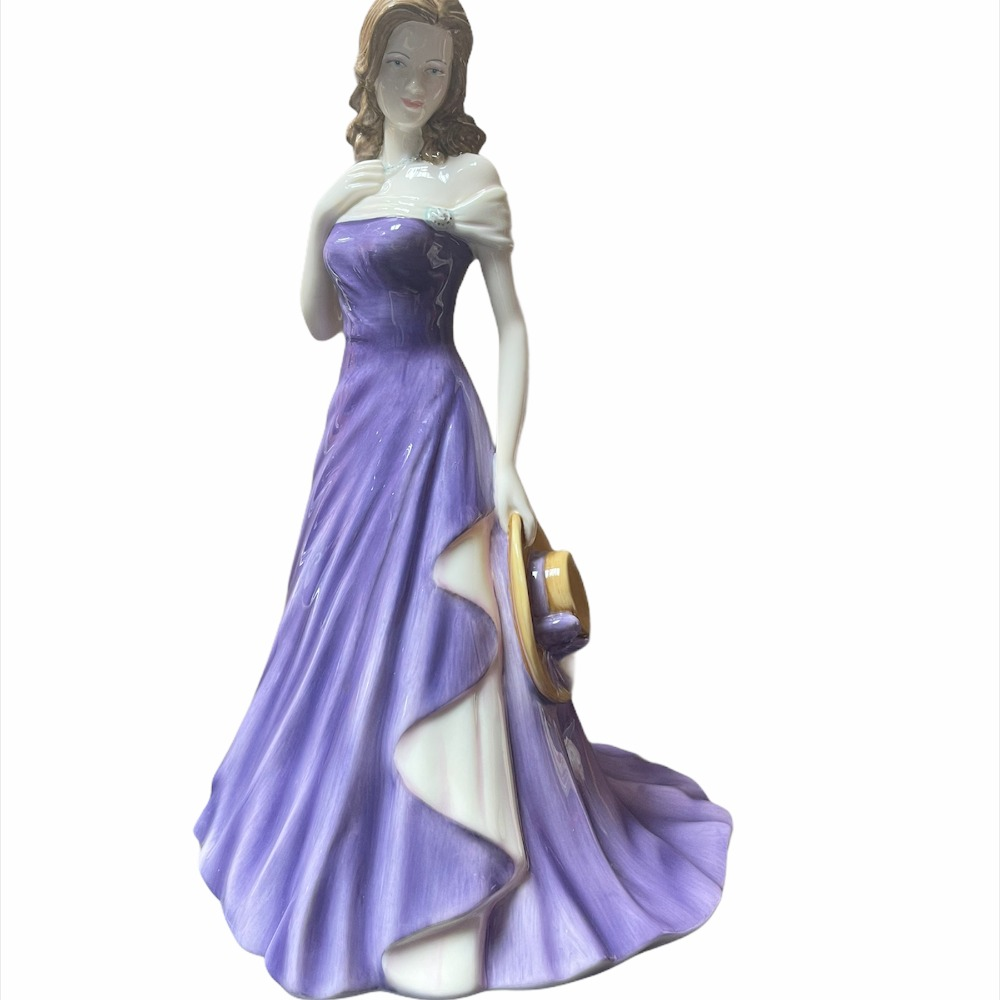 Product photo for ROYAL DOULTON PRETTY LADIES FIGURINE CLAIRE