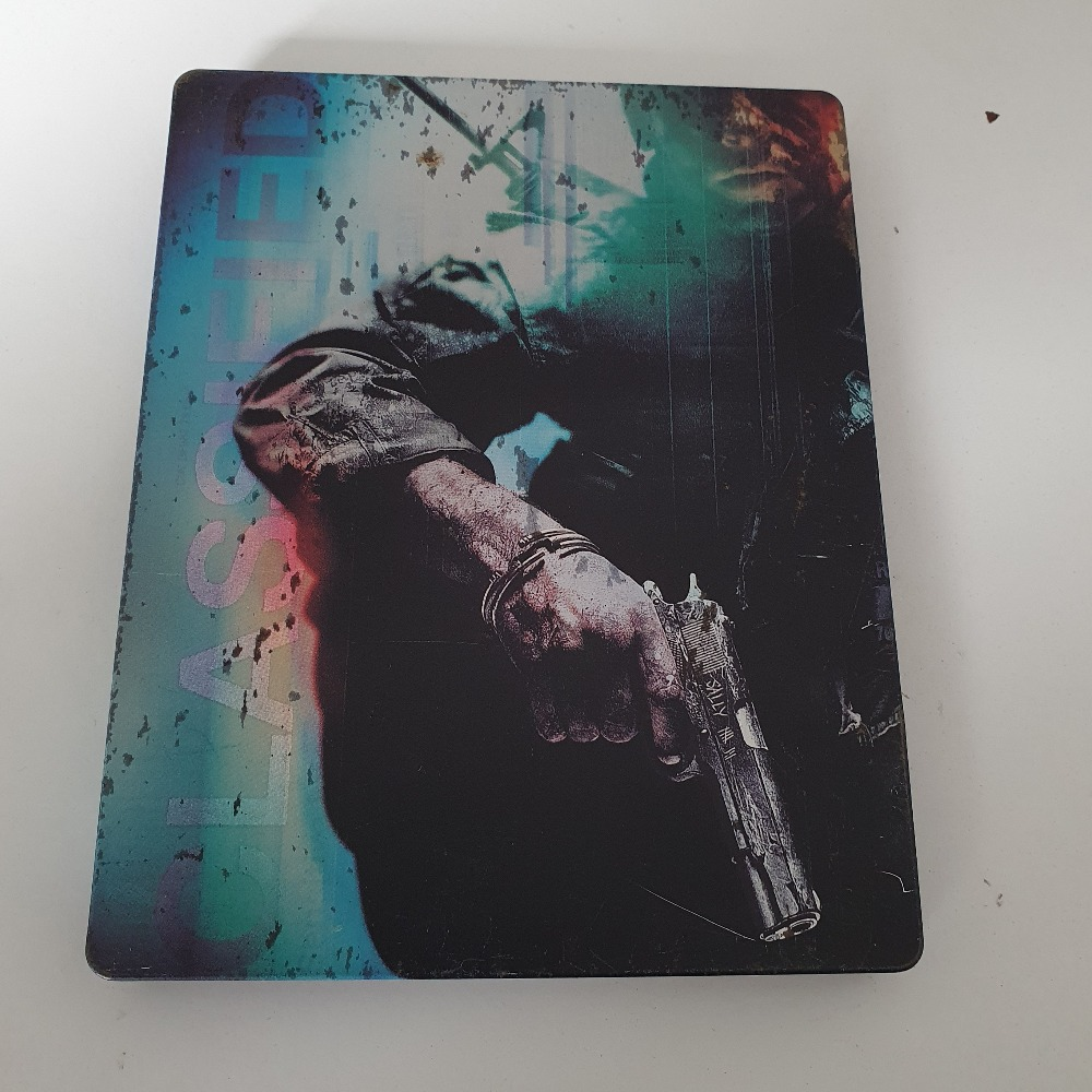 Product photo for Playstation 3  call of duty blackops steelbook playstation 3