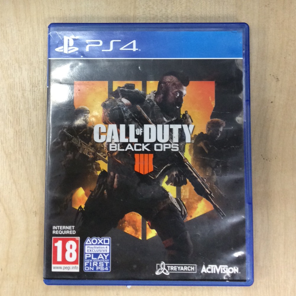 Product photo for Ps4 Call of duty black ops 4
