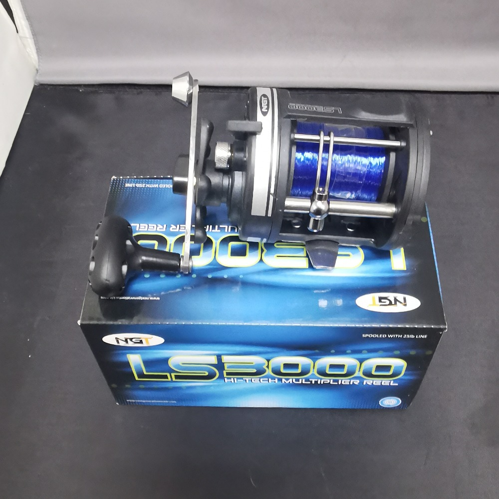 Product photo for NGT  Multiplier Fishing Reel LS3000