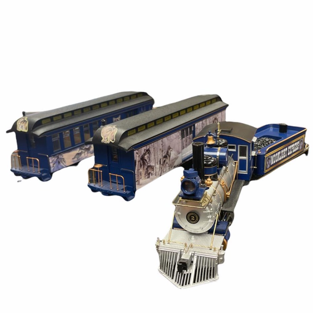 Product photo for Moonlight Express Train - Hawthorne Village