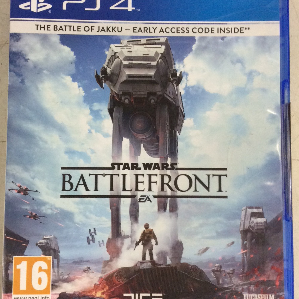 Product photo for PS4 Star Wars battlefront