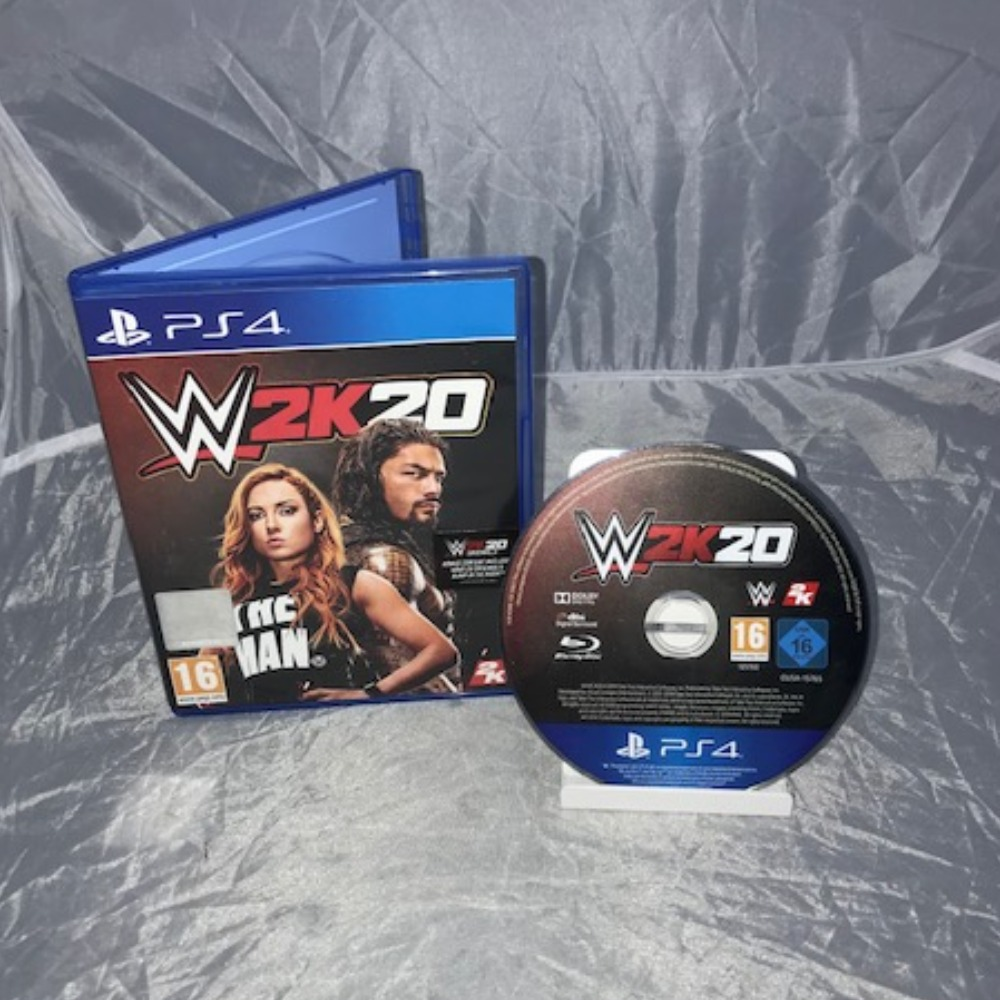 Product photo for PlayStation 4 Game WWE 2K20 *SALE*