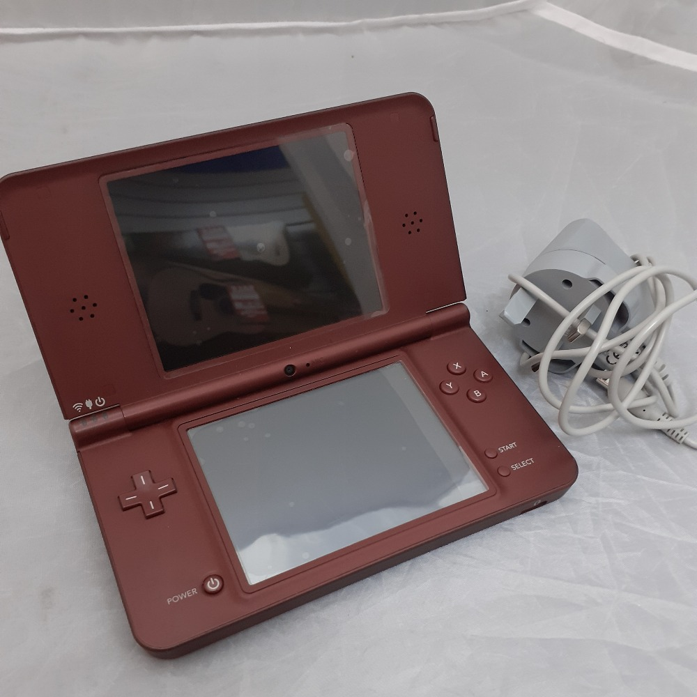 Product photo for Nintendo DSi XL (Wine Red) *SALE*
