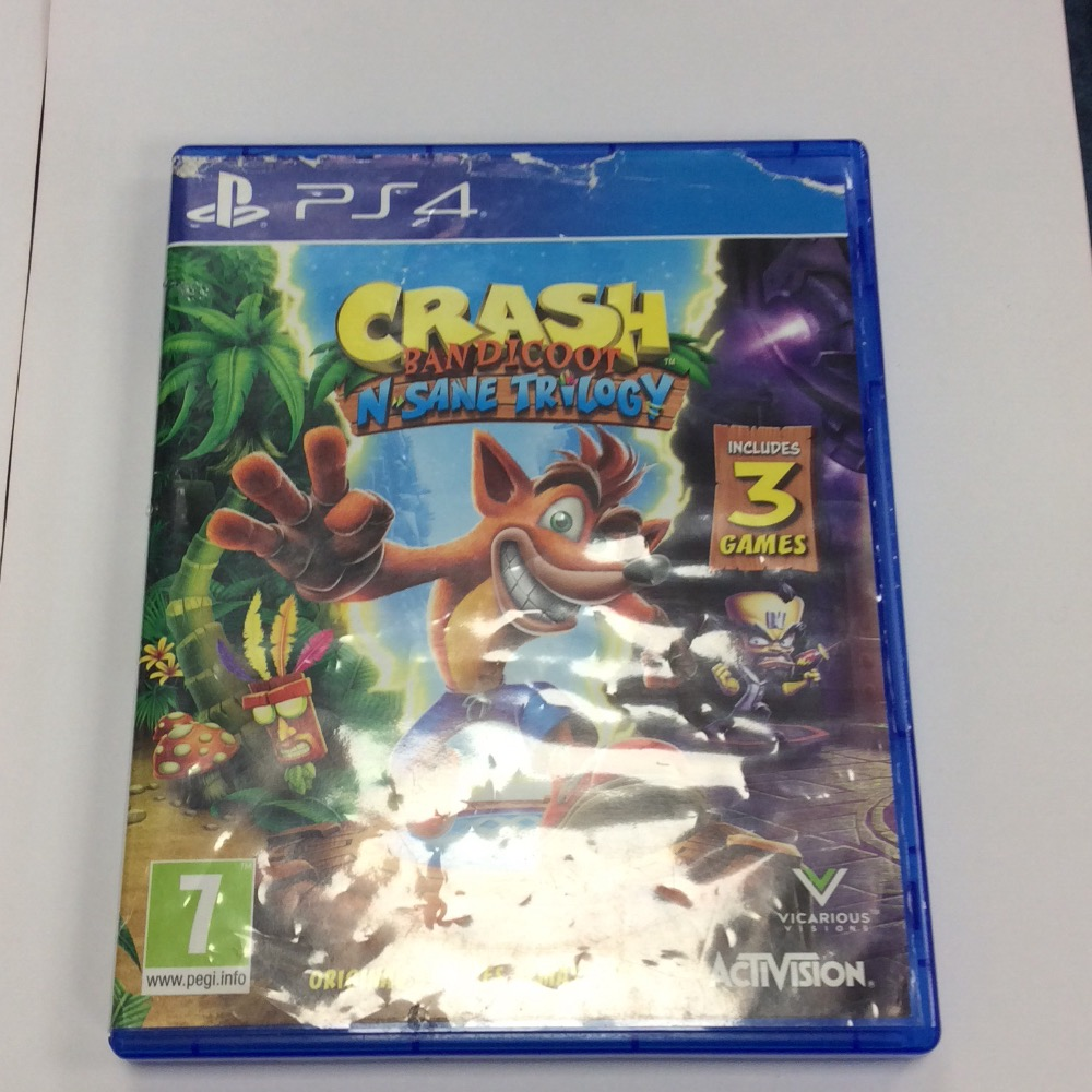 Product photo for PlayStation 4 Game Ps4 Crash Bandicoot