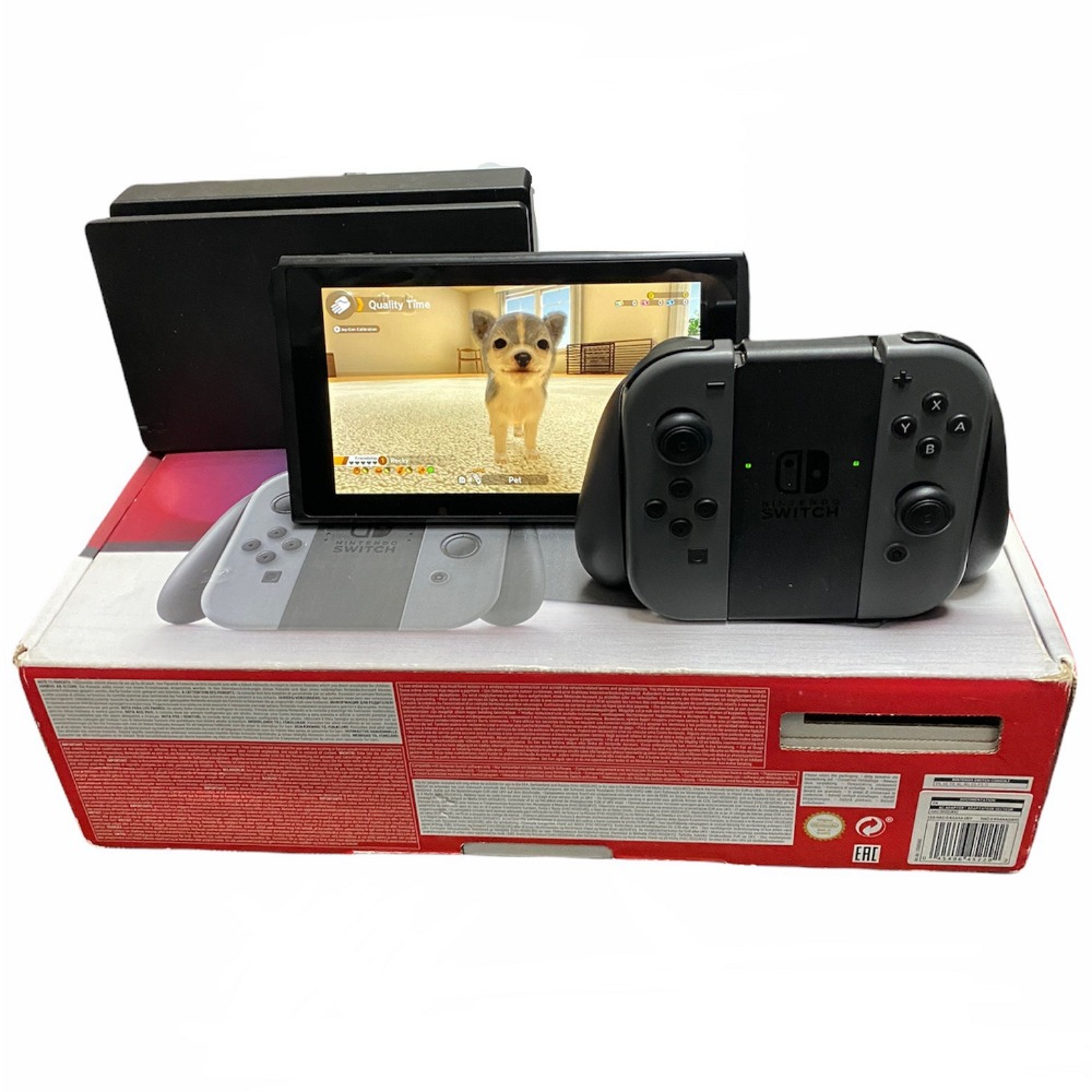 Product photo for Nintendo Switch Grey