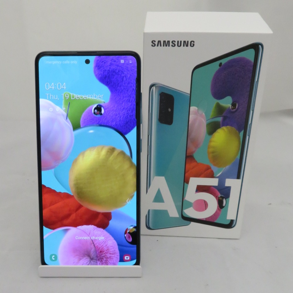 Product photo for SALE was £279.99 now £175 Samsung A51 Open Network