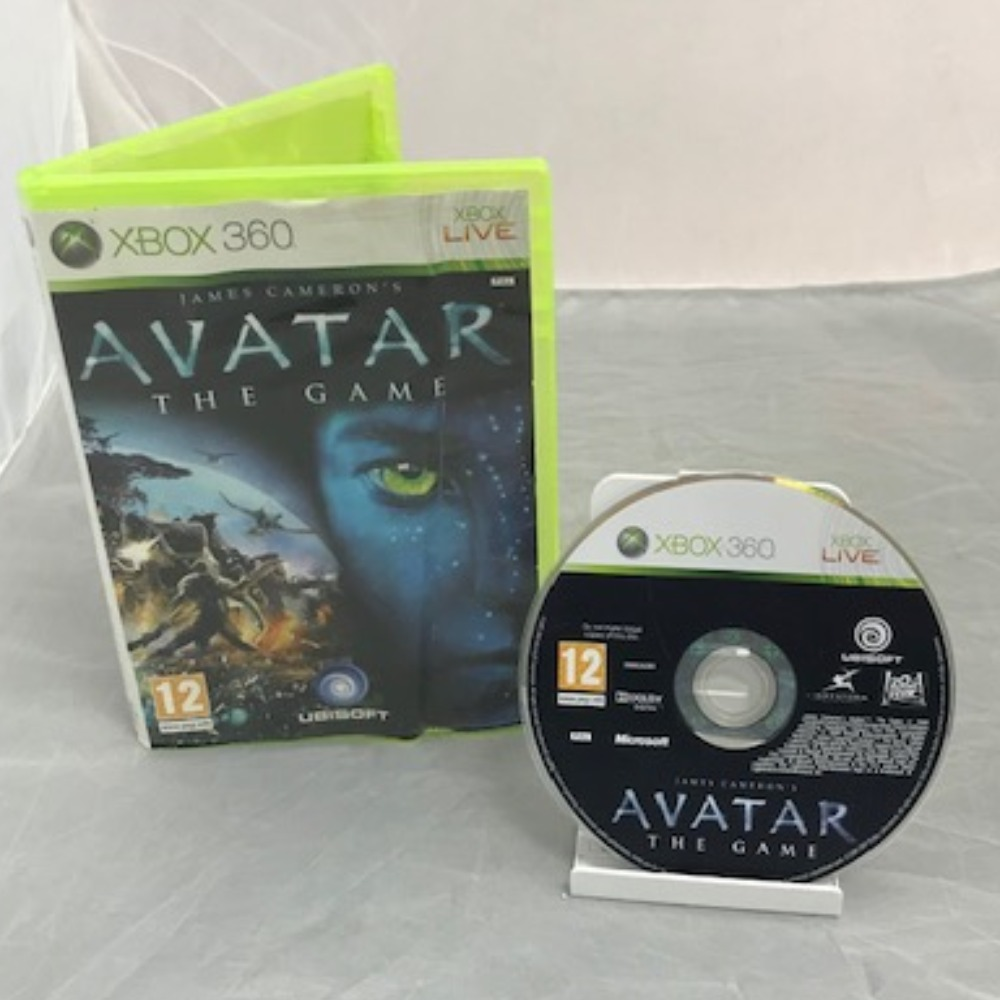 Product photo for Xbox 360 Game James Cameron's Avatar: The Game