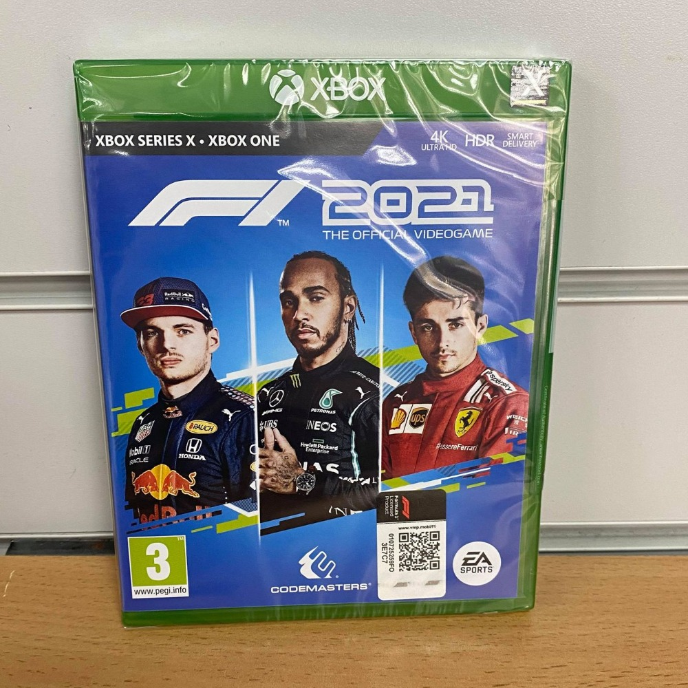 Product photo for  Xbox one game F1 2021 Xbox One