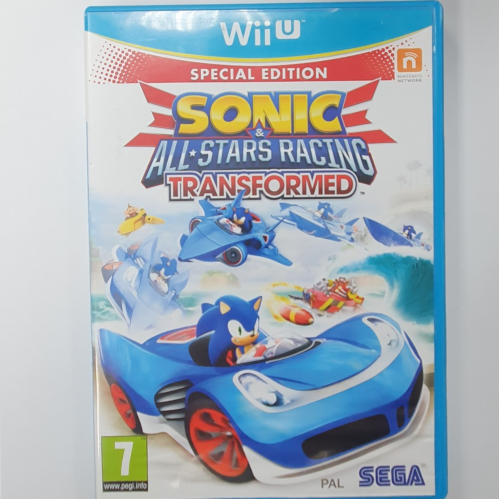 Product photo for 	 Sonic & All Stars Racing Transformed