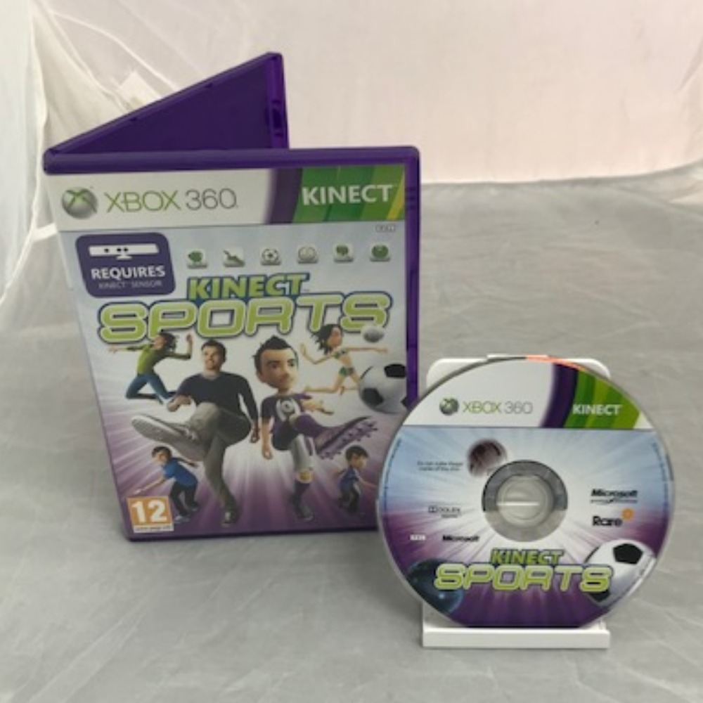 Product photo for Xbox 360 Game Kinect Sports