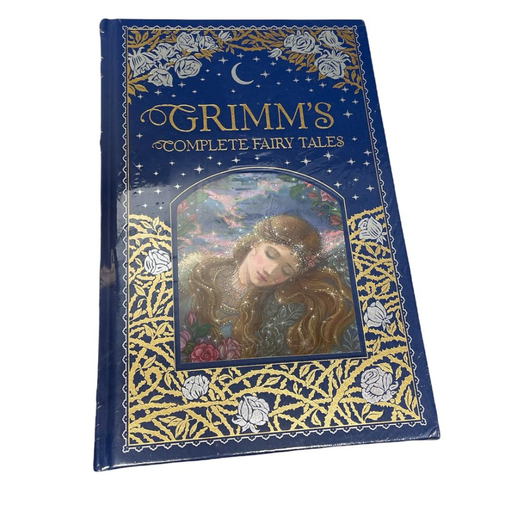 Product photo for Brother Grimm Complete Fairy Tales Hardback Books - Sealed