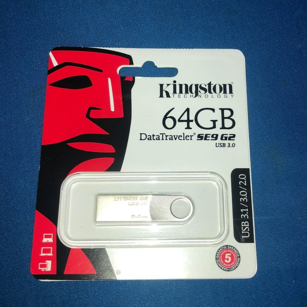Product photo for Kingston  64GB USB 3.0