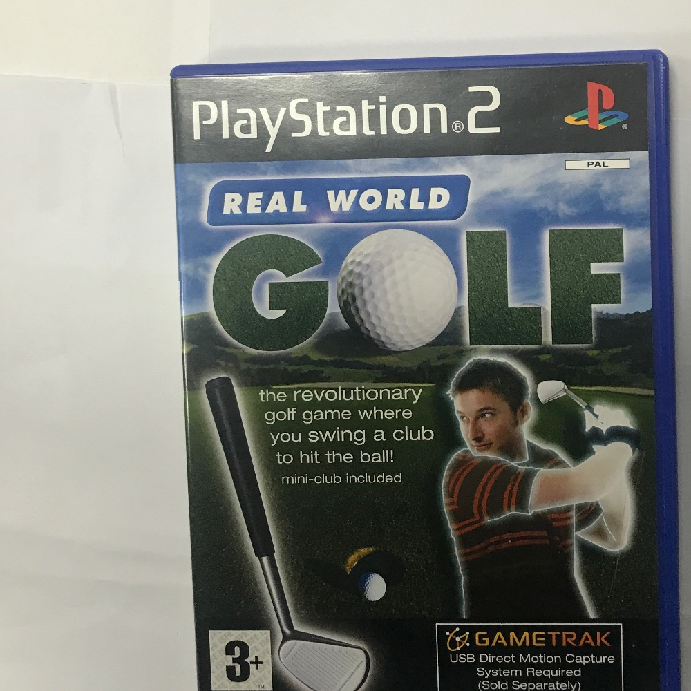 Product photo for Sony Gametrak Real world golf PS2