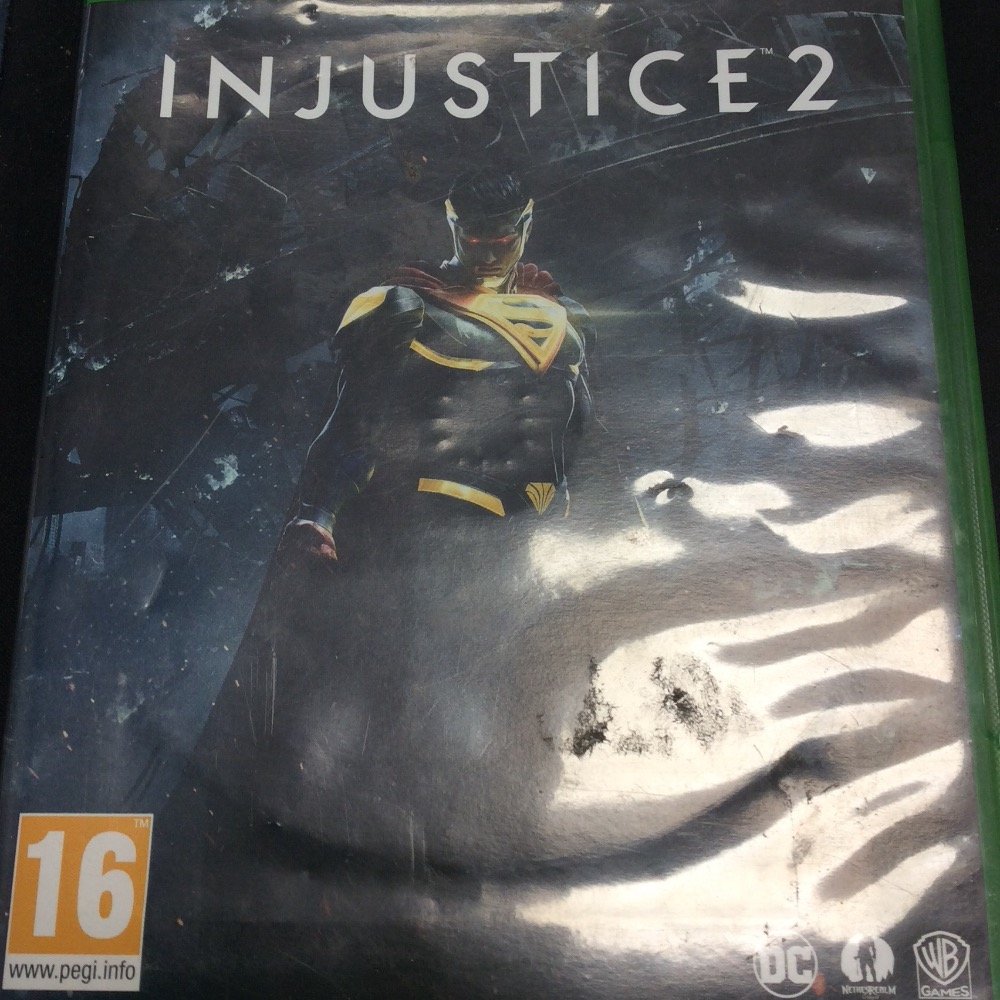 Product photo for Xbox One Game Injustice 2 Xbox one game