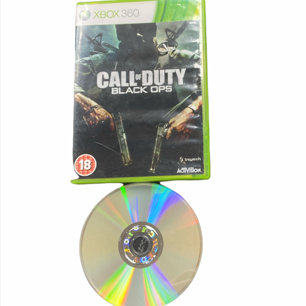 Product photo for Xbox 360 call of duty black ops