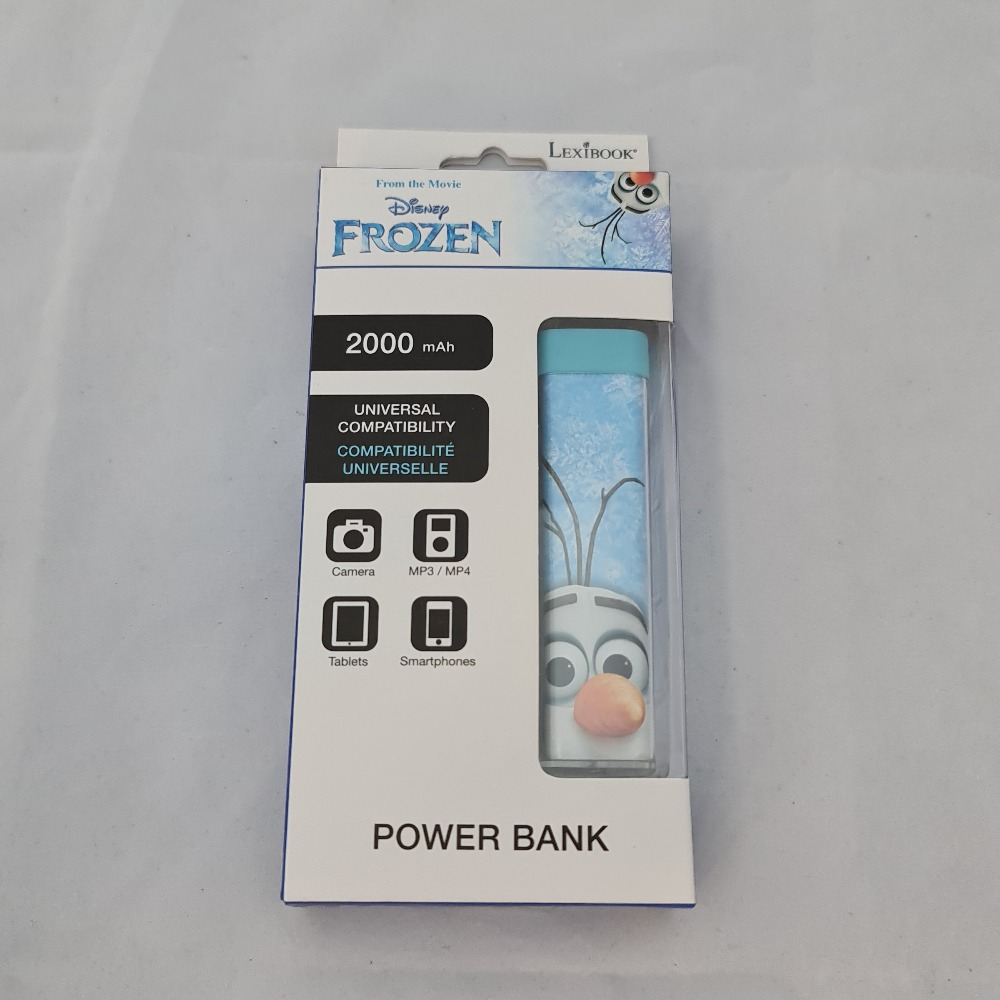 Product photo for FROZEN 2000MAH POWERBANK