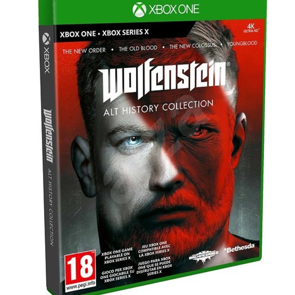 Product photo for Wolfenstein Alt History Collection Xbox One / Xbox Series X Game (Release Date: 30/10/2020)
