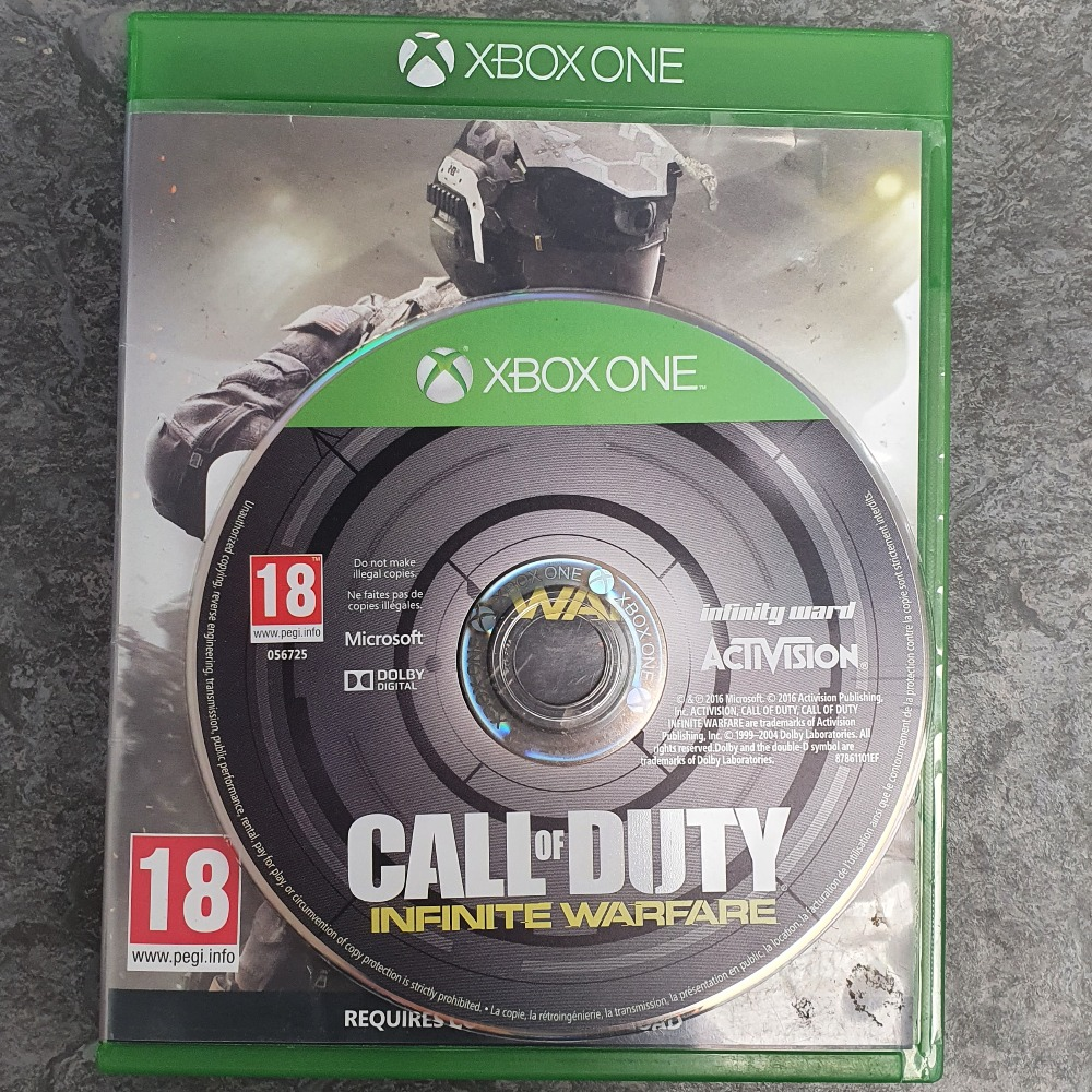 Product photo for  Xbox one game Call of Duty: Infinite Warfare - Xbox One