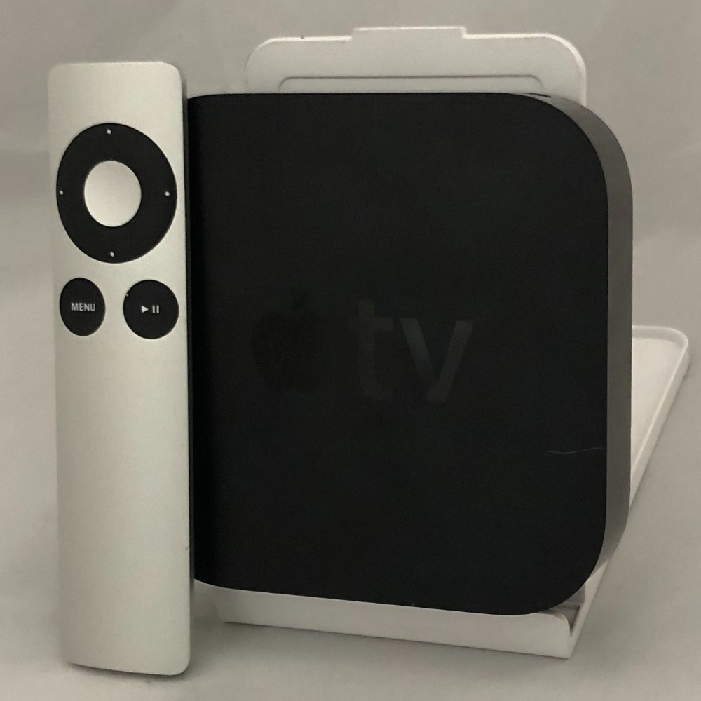 Product photo for Apple Apple TV 3rd Gen A1469 Apple TV With Mains Lead and Remote