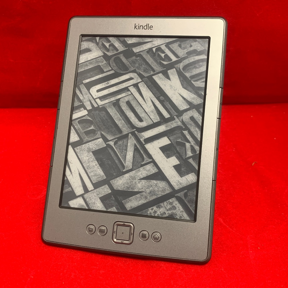 Product photo for Kindle e-reader, 4th gen