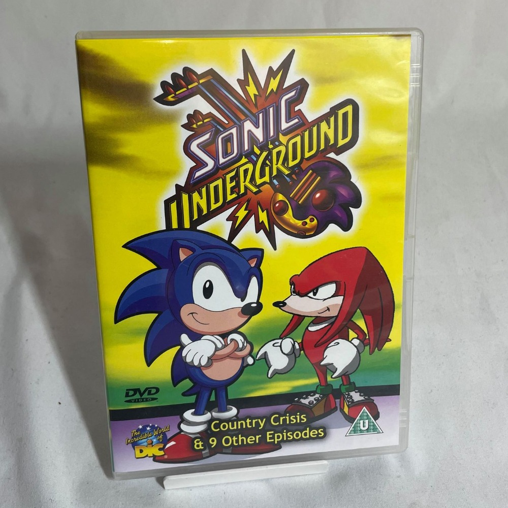 Product photo for Sonic Underground DVD