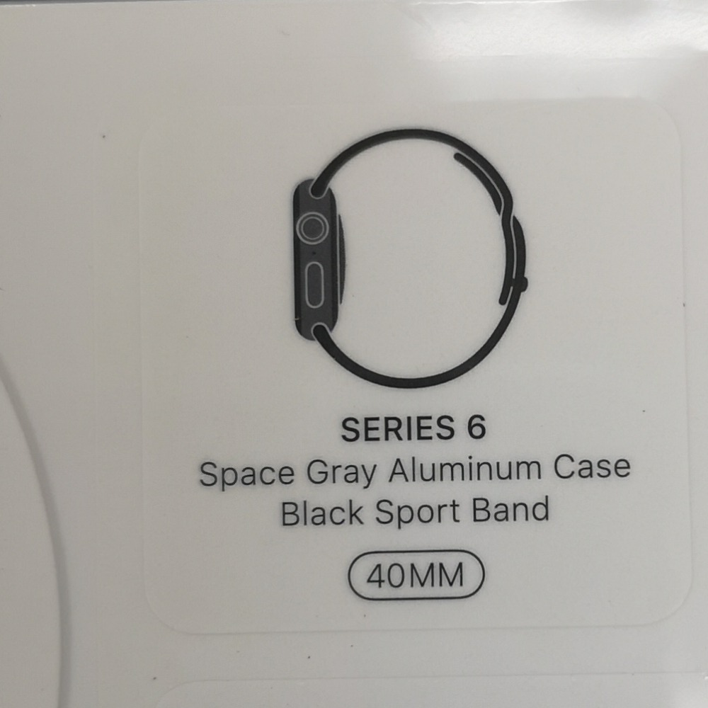 Product photo for *Sealed* Apple Watch S6