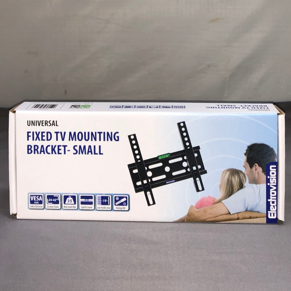 Product photo for Electrovision Fixed Tv Bracket - Small