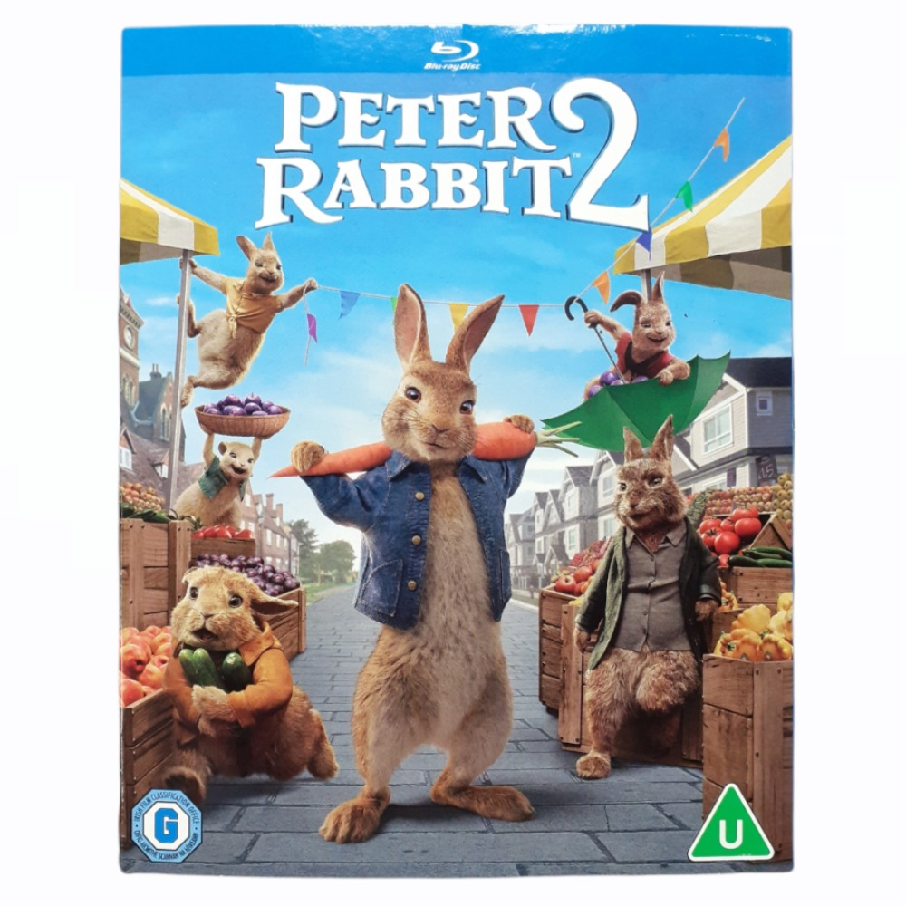 Product photo for Blu-ray Peter Rabbit 2