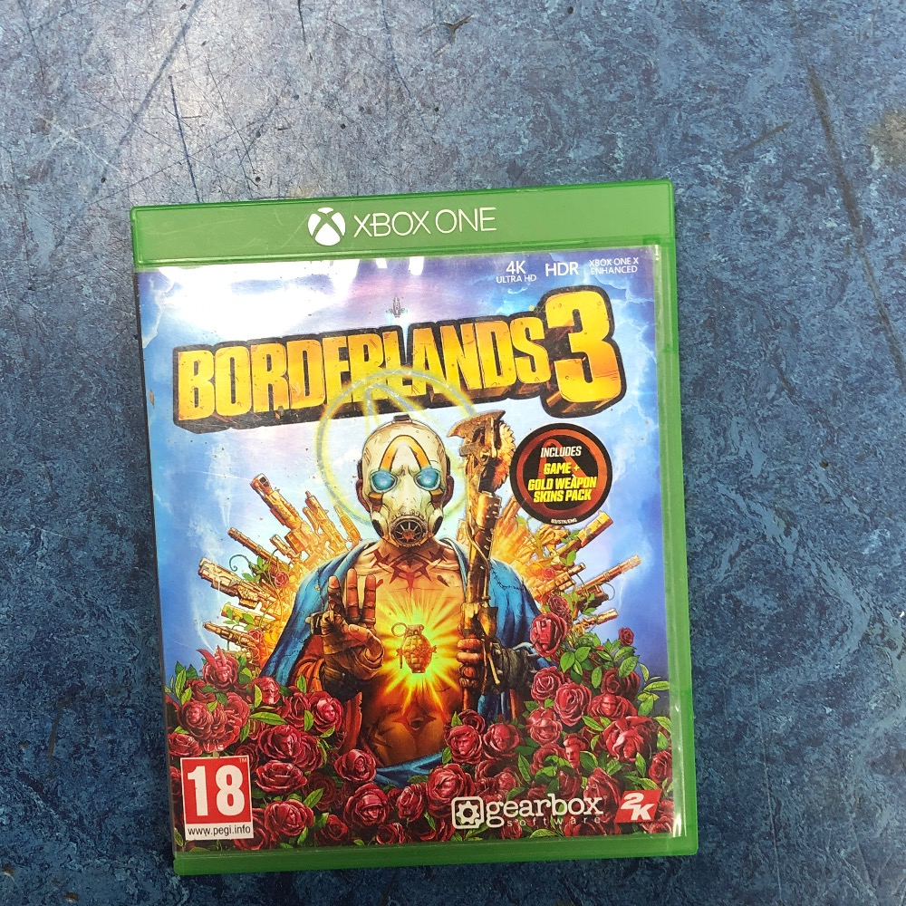 Product photo for Microsoft Xbox One Game borderlands
