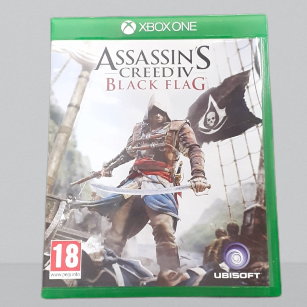 Product photo for  Xbox one game ac black flag