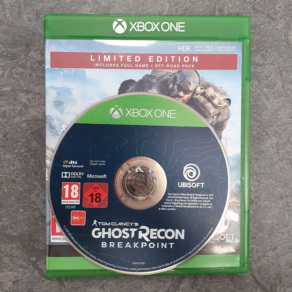 Product photo for Tom Clancy's Ghost Recon Breakpoint Limited Edition (Xbox One)