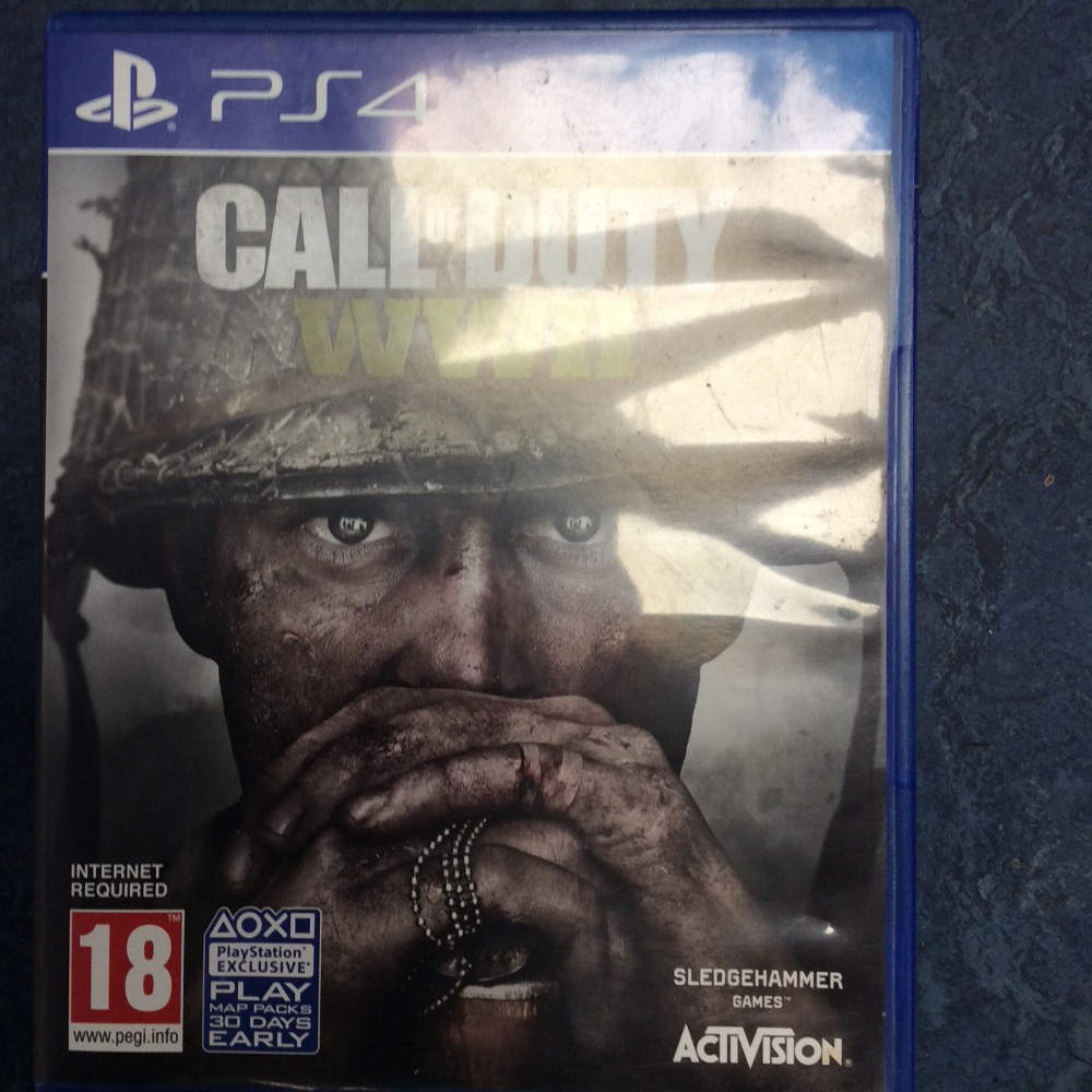 Product photo for PS4 Game Call of duty wwii
