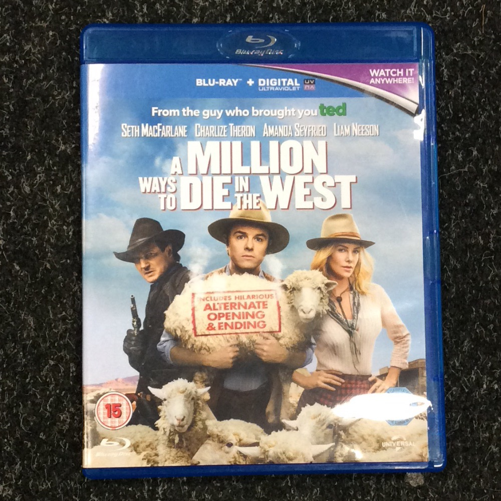 Product photo for Blu-ray A million ways to die in the west Blu-Rays