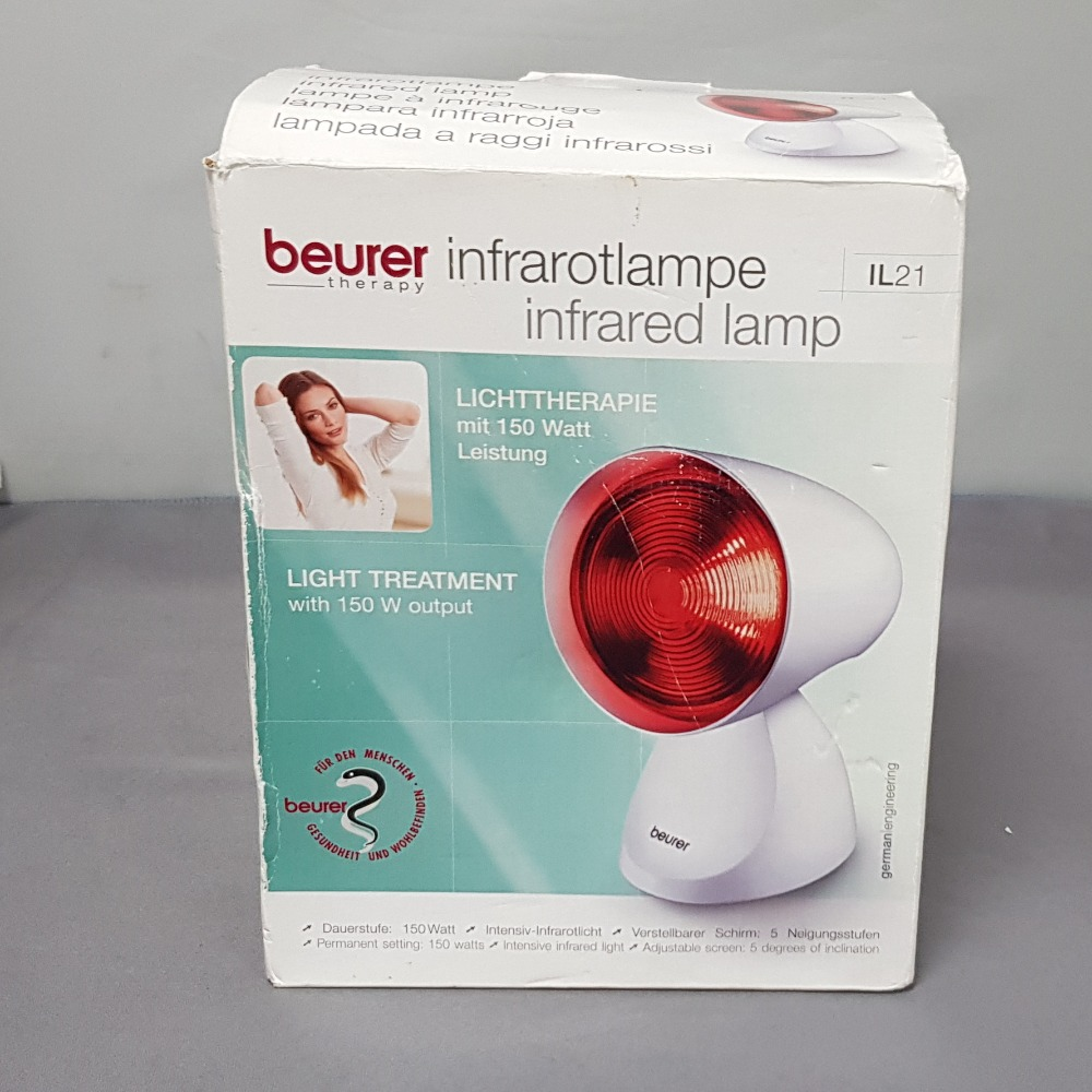 Product photo for Beurer  infrared lamp IL21