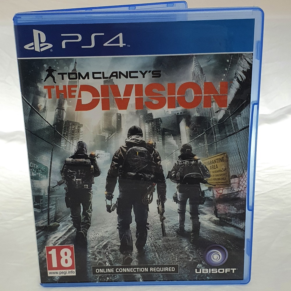 Product photo for Tom Clancy's The Division (PS4)