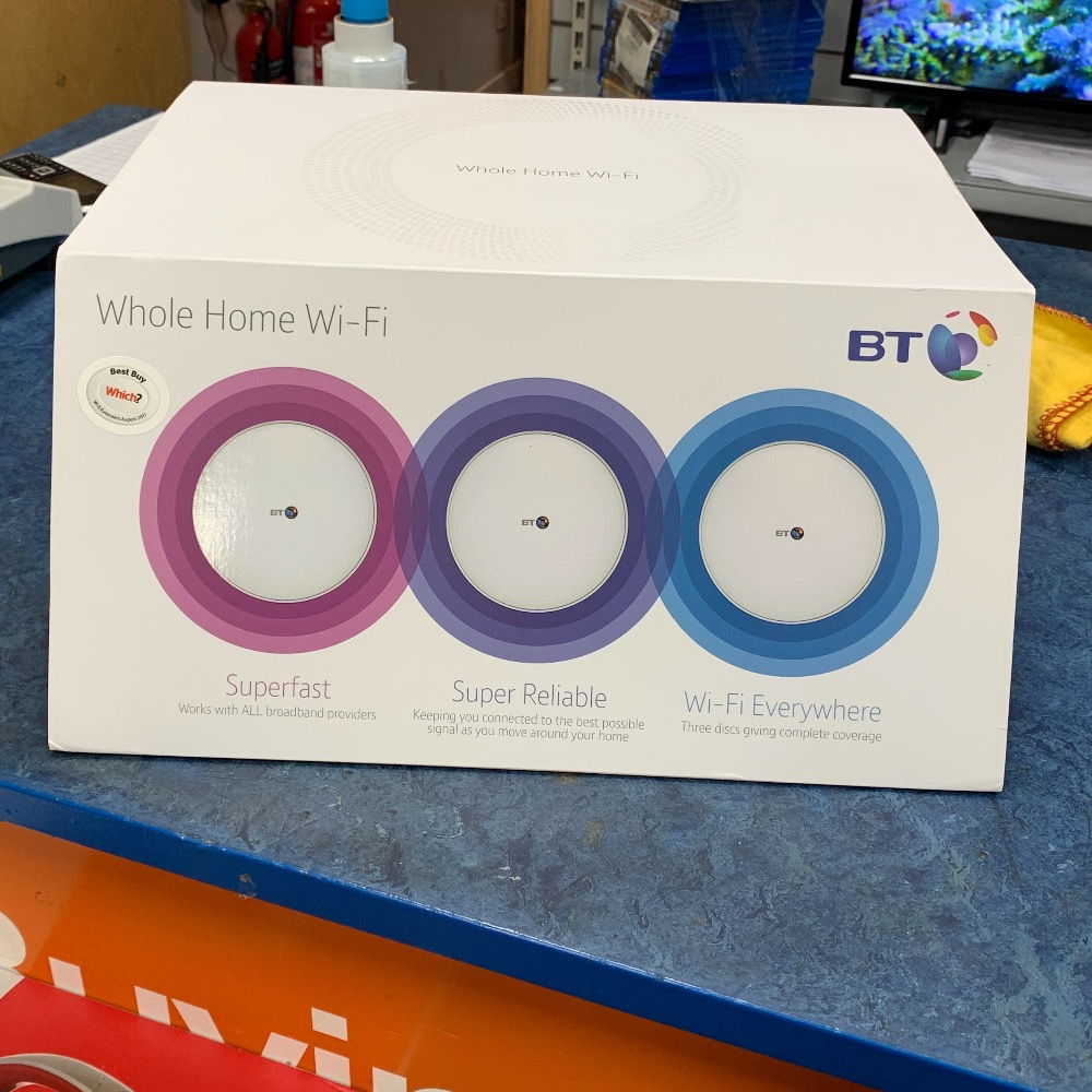 Product photo for Bt Whole home WiFi set